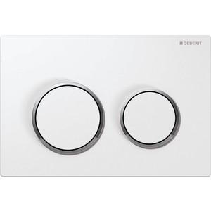 Кнопка смыва Geberit Omega 20 белый/хром (115.085.KJ.1)