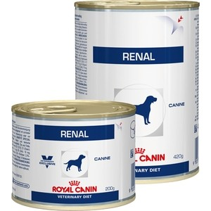 Консервы Royal Canin Renal Canine диета при хронической почечной недостаточности для собак 410г (655004)