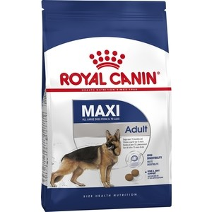 Сухой корм Royal Canin Maxi Adult для собак крупных пород 15кг (122150) комплект гантелей 3 кг interatletik ст 560 3 2шт