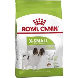 Сухой корм Royal Canin X-Small Adult для собак миниатюрных пород 1,5кг (315015)