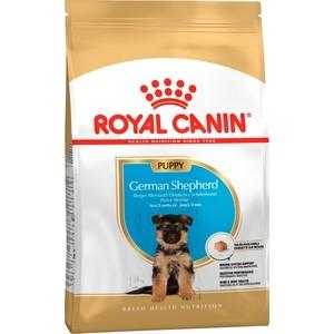 Купить Сухой корм Royal Canin Junior German Shepherd для щенков до 15 месяцев породы Немецкая овчарка 12кг (362120)
