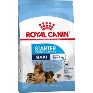 Сухой корм Royal Canin Maxi Starter Mother & Babydog для щенков крупных пород до 2-х месяцев, беременных и кормящих собак 4кг (191040) фото
