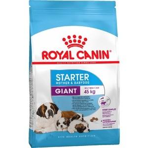 Сухой корм Royal Canin Giant Starter Mother & Babydog для щенков очень крупных пород до 2-х месяцев, беременных и кормящих собак 15кг (194150)