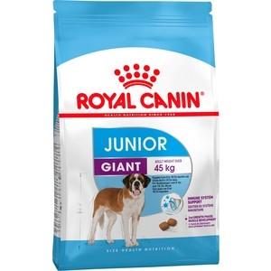 Сухой корм Royal Canin Giant Junior для щенков очень крупных пород от 8 месяцев 15кг (197150)