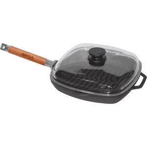 Сковорода-гриль со съемной ручкой 28 см Биол (1028С)