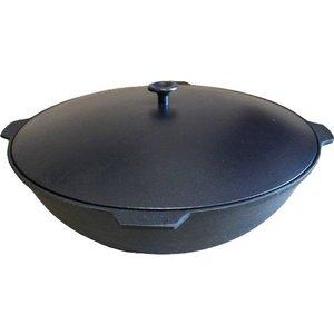 Казан с крышкой 10 л Камская Посуда (К101)