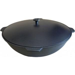 Казан Камская Посуда 12л с алюминиевой крышкой (К121)