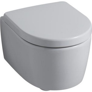 Унитаз подвесной Geberit Keramag iCon XS Rimfree короткий, безободковый (204070000) унитаз подвесной безободковый keramag myday 201460000