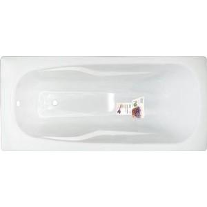 Стальная ванна ВИЗ Donna Vanna 170x75 анатомическая, с ножками, белая орхидея (DV-73701 / 4607084496963)