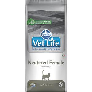 Сухой корм Farmina Vet Life Neutered Female Feline диета для стерилизованных кошек 2кг фото