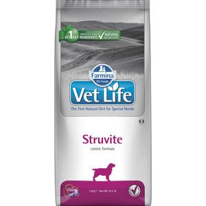 Сухой корм Farmina Vet Life Struvite Canine диета при МКБ для собак 12кг (25371)