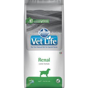 все цены на Сухой корм Farmina Vet Life Renal Canine диета при заболеваниях почек для собак 2кг (25241) онлайн