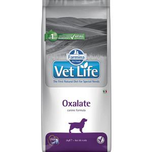 Сухой корм Farmina Vet Life Oxalate Canine диета при профилактики МКБ уратного, оксалатного и цистиного типа для собак 2кг (25234)