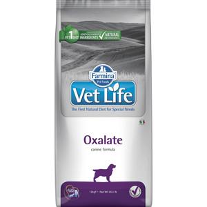Сухой корм Farmina Vet Life Oxalate Canine диета при профилактики МКБ уратного, оксалатного и цистиного типа для собак 12кг (25388)
