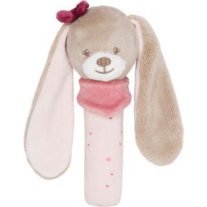 Игрушка мягкая Nattou Cri-Cris (Наттоу Кри Крис) Nina, Jade & Lili Кролик 987134 кровать lili