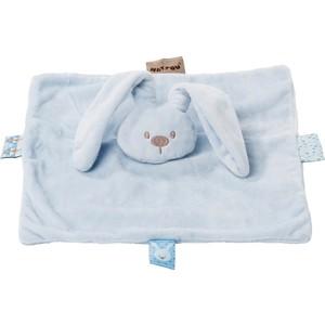 Игрушка мягкая Nattou Doudou (Наттоу Дуду) Lapidou Кролик sky blue 878098 цены онлайн