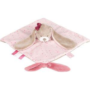 Игрушка мягкая Nattou Doudou (Наттоу Дуду) Nina, Jade & Lili Кролик 987165 все цены
