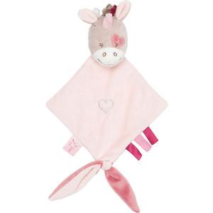 цена на Игрушка мягкая Nattou Doudou (Наттоу Дуду) малая Nina, Jade & Lili Единорог 987158