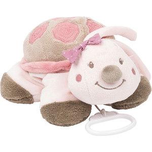 Игрушка мягкая Nattou Musical Soft toy (Наттоу Мьюзикал Софт Той) Nina, Jade & Lili Черепашка музыкальная 987073 игрушка мягкая nattou soft toy наттоу софт той alex