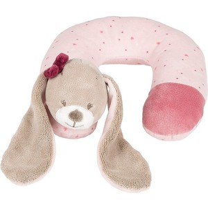 цена на Подголовник Nattou Neck pillow (Наттоу) Nina, Jade & Lili Кролик 987394