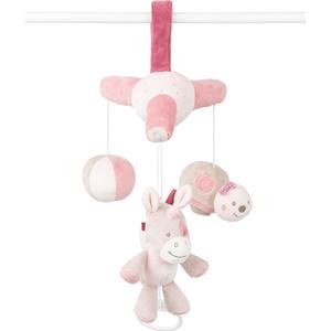 Мобиль-мини Nattou (Наттоу) Nina, Jade & Lili Кролик, Единорог, Черепашка 987257 игрушка мягкая nattou зеркало mirror for car наттоу nina jade