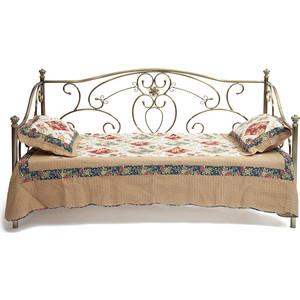 Кровать металлическая TetChair JANE 90x200, цвет античная медь кровать металлическая tetchair jane 90x200 цвет античный белый