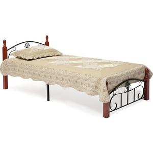 Кровать TetChair РУМБА (AT-203)/ RUMBA 90x200 железная кровать односпальная tetchair румба