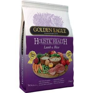 Сухой корм Golden Eagle Holistic Health Lamb with Rice Formula с ягненком и рисом для собак 12кг (233230) golden eagle holistic health power formula для активных собак 12кг 233834