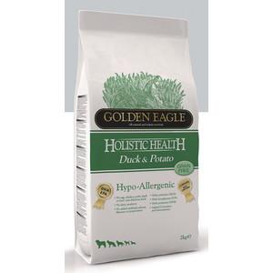 Сухой корм Golden Eagle Holistic Health Hypo-Allergenic GF Duck & Potato беззерновой гипоаллергенный с уткой и картофелем для собак 2кг (235111) фото