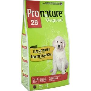 Сухой корм Pronature Original 28 Puppy Growth Large Classic Recipe Chicken Formula с курицей для щенков крупных пород 20кг (102.562)(OD-2)