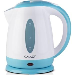 Чайник электрический GALAXY GL0221, голубой цена и фото