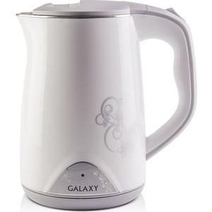 Чайник электрический GALAXY GL0301, белый чайник galaxy gl0301 белый