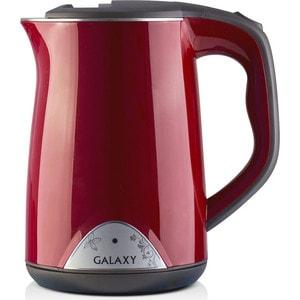 Чайник электрический GALAXY GL0301, красный чайник galaxy gl0301 белый