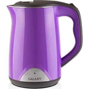 Чайник электрический GALAXY GL0301, фиолетовый чайник galaxy gl0301 белый