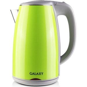 лучшая цена Чайник электрический GALAXY GL0307, зеленый