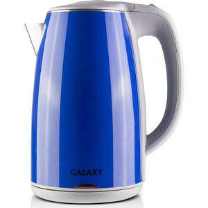 лучшая цена Чайник электрический GALAXY GL0307, синий