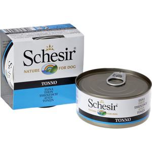Консервы Schesir Nature for Dog Tuna кусочки в желе с тунцом для собак 150г (С681)