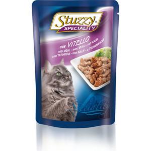 Паучи Stuzzy Cat Speciality with Veal кусочки в соусе с телятиной для кошек 100г (131.2506)