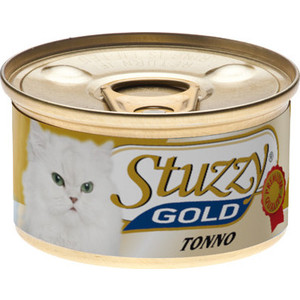 Консервы Stuzzy Cat Gold Tuna кусочки в собственном соку с тунцом для кошек 85г (132.С402) недорого