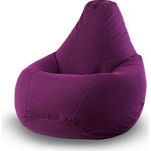 Кресло-мешок POOFF Фиолетовое микровельвет XL фото