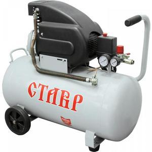 Компрессор масляный СТАВР КМК-50/1500 компрессор земляк масляный кмк 1600 24 набор пневмоинструмента калибр нп 6