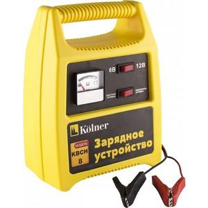 Зарядное устройство Kolner KBCH 8 аккумуляторная отвертка kolner kcsd 4 8 кн4 8