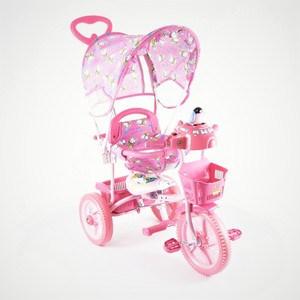 Велосипед трехколесный Jaguar (MS-0737) розовый