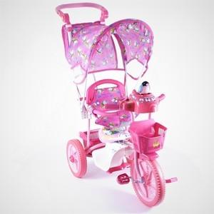 Велосипед трехколесный Jaguar (MS-0737K) розовый