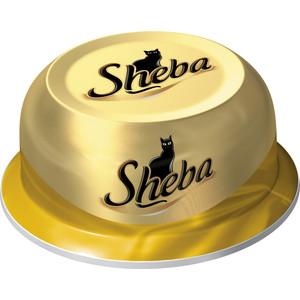 Консервы Sheba соте из куриных грудок для кошек 80г (10116242)