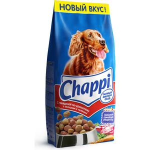 Сухой корм Chappi Сытный обед с говядиной по-домашнему, овощами и травами для собак 15кг (YY065) корм для собак chappi 15 кг сухой корм мясное изобилие с овощами и травами