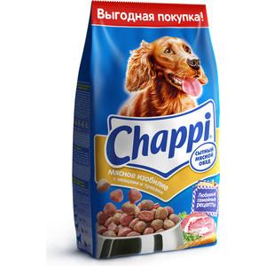 Сухой корм Chappi Сытный обед мясное изобилие с овощами и травами для собак 15кг (YY080) корм для собак chappi 15 кг сухой корм мясное изобилие с овощами и травами