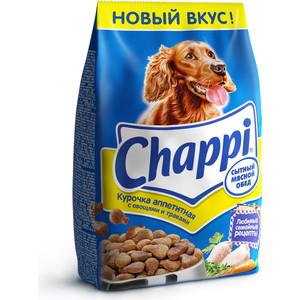 Сухой корм Chappi Сытный обед с аппетитной курочкой, овощами и травами для собак 15кг (YY082) корм для собак chappi 15 кг сухой корм мясное изобилие с овощами и травами