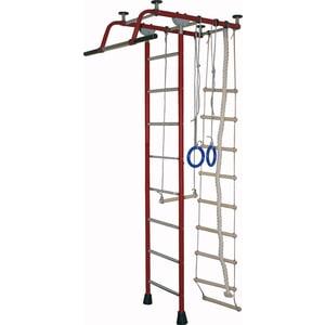 Детский спортивный комплекс Крепыш плюс Т (2159) бордовый детский спортивный комплекс крепыш плюс 02453 т пвх синий
