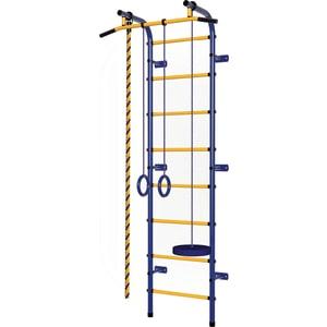 Детский спортивный комплекс Пионер С1НМ сине/желтый